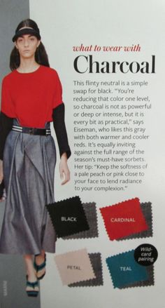Instyle Color Crash Course - Charcoal