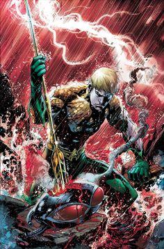 #Aquaman #Fan #Art. (Aquaman Vol.7 #11 Cover) By: Ivan Reis,Joe Prado,Rod Reis. (THE * 5 * STÅR * ÅWARD * OF: * AW YEAH, IT'S MAJOR ÅWESOMENESS!!!™)[THANK U 4 PINNING!!!<·><]<©>ÅÅÅ+(OB4E)