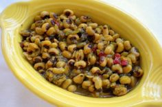 Indian spiced black-eyed peas recipe