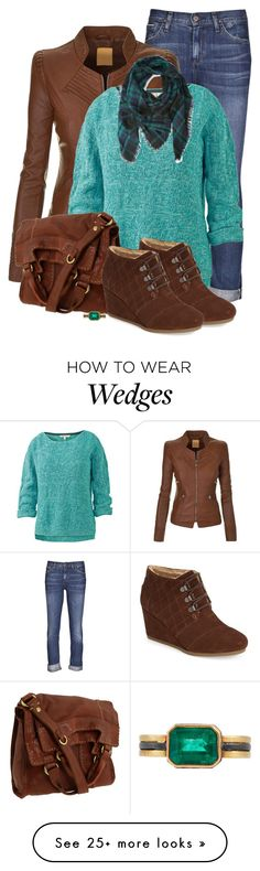 """Untitled #510"" by gummysmom on Polyvore featuring Goldsign, Fat Face, Lucky Brand, TOMS, Judy Geib and Forever 21"
