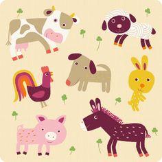 géraldine cosneau Illustration Mignonne, Pattern Illustration, Children's Book Illustration, Animal Illustrations, Griffonnages Kawaii, Animal Graphic, Kawaii Doodles, Baby Drawing, Kids Prints