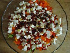 W siódmym niebie - blog kulinarny: Sałatka z serem bałkańskim Feta, Dairy, Cheese, Blog