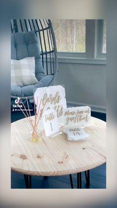 Top Wedding Trends, Wedding Signage, Wedding Signs