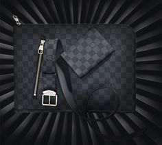Luck is shining on the Louis Vuitton man this holiday season, with an #LVWishList packed with Damier!