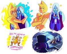 Some diamond doodles between other work