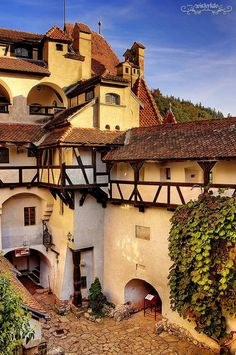 Residence of Dracula «Bran Castle, Transylvania, Romania Places Around The World, Oh The Places You'll Go, Places To Travel, Places To Visit, Around The Worlds, Beautiful Castles, Beautiful Buildings, Chateau Moyen Age, Wonderful Places