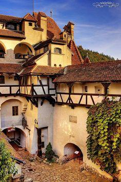Confirman mis fuentes que ésta sí era la residencia del Conde Drácula. | «Bran Castle, Transylvania, Romania».