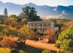 Surrounded by rolling fields and the majestic Langeberg Mountain range this picturesque country house is the ideal romantic getaway for guests looking for. Schoone Oordt Country House Swellendam South Africa R:Western Cape hotel Hotels Villas, Elephant Camp, Garden Route, Hotel Deals, Outdoor Pool, Hotel Offers, A Boutique, Countryside, South Africa