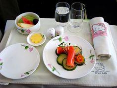 EVA Airways Hello Kitty Jet Meal