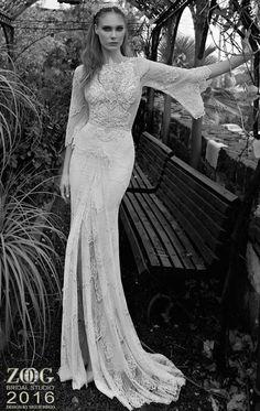 Wedding Trends 2017 - The New Vintage - 70s inspired wedding dresses 2 Find the perfect dress: www.pinterest.com/laurenweds/wedding-dresses