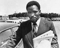 Steve Biko was an anti-apartheid activist and founder of the Black Consciousness Movement which mobilized the South African youth against apartheid. After numerous harassments from the racist regime, he was murdered in police custody on September 11 Steve Biko, Xhosa, African Diaspora, African American History, Black Power, Oppression, Black History, Black Men, The Man