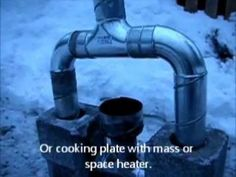 Rocket Stove Ideas 1 - Two directional feed tube