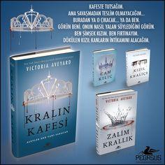 YENİ!  KRALIN KAFESİ - Ciltli (Kızıl Kraliçe 3) & VICTORIA AVEYARD Çeviri: Belgin Selen Haktanır / Fantastik Roman https://urun.n11.com/roman/kralin-kafesi-ciltli-kizil-kralice-3-P216521710?utm_content=buffer8659f&utm_medium=social&utm_source=pinterest.com&utm_campaign=buffer