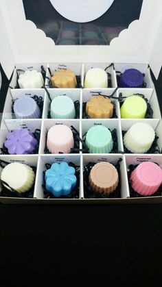 The Melt Box includes 16 soy wax melts by WICKNICEshop on Etsy
