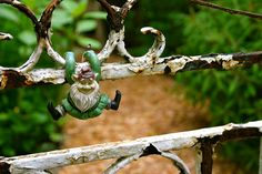 one of the gnomes greeting you at the gate by Lelonopo, via Flickr