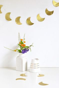 Moon garland | Make and Tell