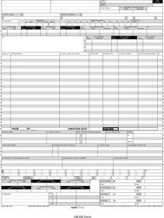 Cms Blank Paper Claim Form   Claim Form