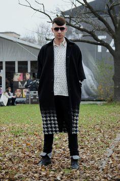 Wojtek, 22 - ŁÓDŹ LOOKS www.facebook.com/lodzlooks #fashionweekpoland #fashionphilosophy #lodz #lodzlooks #fashionweek