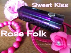 make up fashion & everything i like...: #Bourjois #Sweet Kiss Lipstick in Rose Folk- Review, Swatches & FOTD!