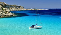 Favignana, Aegadian Islands, Sicily – Beautiful Italian small islands    #TuscanyAgriturismoGiratola