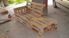 "Pallet Sofa ""work In Progress"""