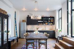 open kitchen-dining