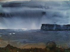 Moody Sky. Artist Linda Foster....stunning