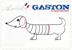 luzia pimpinella: GASTON, le basset parisien