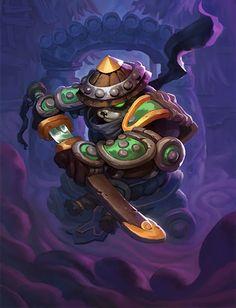 Card Name: Lotus Assassin Artist: Garrett Hanna ✖