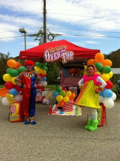 "Trunk or Treat Circus Theme. Local churches do this for the kids in our community. Woo Hoo for ""Our Faith is Over The Top""!!"