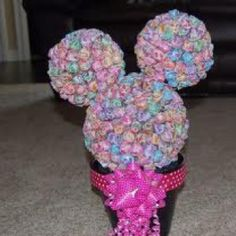 minnie mouse candy centerpiece