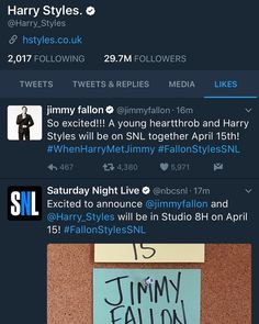 A young heartthrob and Harry Styles.. would it be Louis?? I hope so 15 04 2017