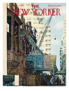 The New Yorker Cover - April 27, 1957 Poster Print by Arthur Getz at the Condé Nast Collection