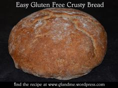 gf crusty bread  1 cup rice flour  ¼ cup corn starch  ¼ cup potato flour  2 teaspoons xanthan gum  1 teaspoon baking powder  TIP: Cut the amount of baking powder in half if you find you can taste it in the final product. 1 tablespoon sugar  1 teaspoon salt  ¼ teaspoon instant quick-rise yeast  1 cup water  Cast iron pot like a Dutch oven