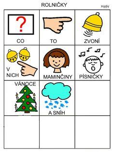 Pro Šíšu: Básničky i pro autíky Montessori, Playing Cards, Education, Comics, School, Advent, Autism, Playing Card Games, Teaching