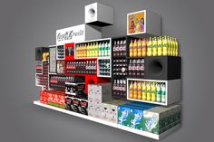 Point Of Purchase Gallery by Amir Hanegbi, via Behance
