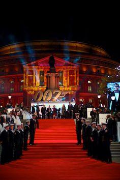 James Bond Skyfall premiere. Royal Albert Hall, London, UK. October 23, 2012. Photo: Edmond Terakopian www.terakopian.com