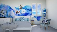 azul room - Bedroom - by fifi sefriyani