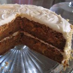This straightforward recipe delivers moist, dense, and delicious carrot cake with pineapple under a cream cheese frosting.