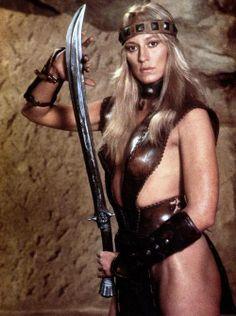 Sandahl Bergman as Valeria in Conan the Barbarian (1982)