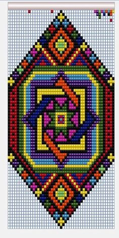 I like to use this idea for weaving Seed Bead Patterns, Peyote Patterns, Weaving Patterns, Crochet Patterns, Cross Stitch Charts, Cross Stitch Designs, Cross Stitch Patterns, Bead Loom Bracelets, Beaded Bracelet Patterns