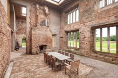Castle Renovation by Witherford Watson Mann, Warwickshire, England