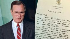 The gracious letter, written as Bush was leaving the White House, is being hailed as an example Trump should follow if he loses the presidential election.