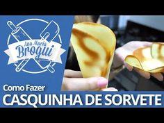 Ana Maria Brogui #96 - Como fazer Casquinha de sorvete - YouTube