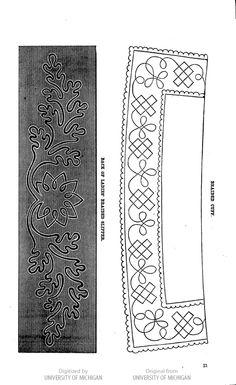 image of page 21 — Braiding pattern, collar