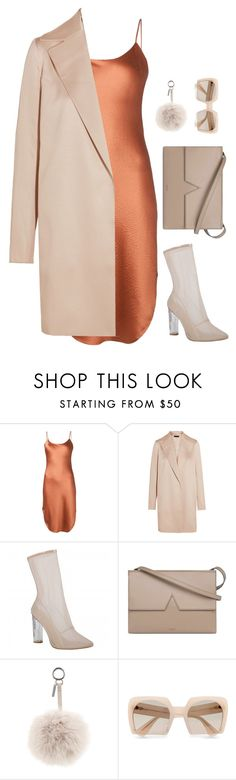 """""""Untitled #6579"""" by heynathalie ❤ liked on Polyvore featuring Maiyet, The Row, Vince, Fendi and Miu Miu"""