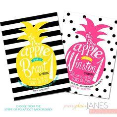 Pineapple invite