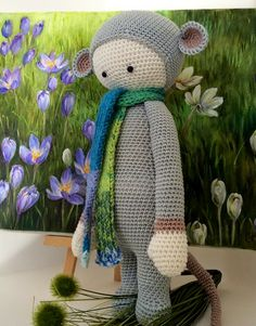 RADA the rat made by ClaCavi / crochet pattern by lalylala