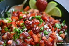 Strawberry Jalapeno Salsa from French Toast, Cheesecake, Salad, and 20 Other Recipes to Make With Berries