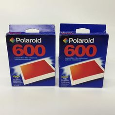 Polaroid 600 Instant Film 2 Boxes of 10 20 Photos Expired 10 2003 74100239660 | eBay